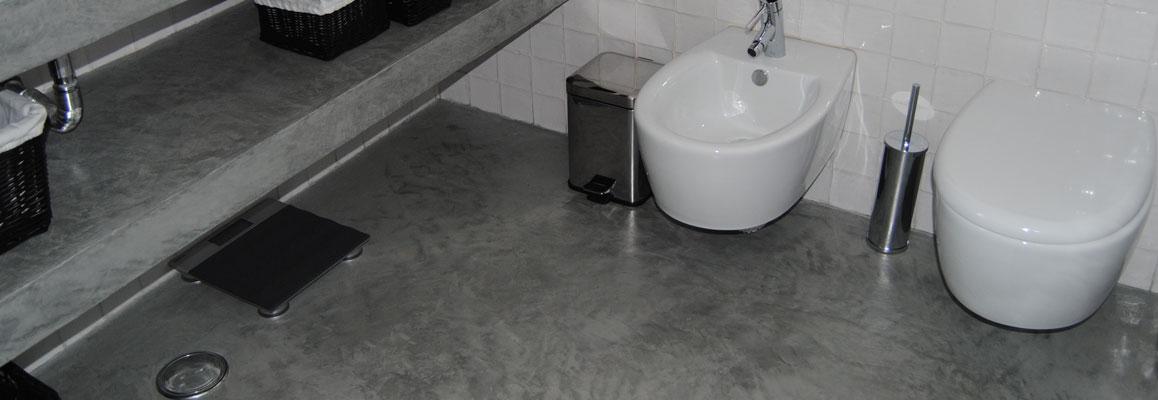 Łazienka z mikrocementu